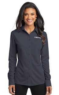 Special-Programs-Bronson-Career-Wear | Bronson Career Wear | Bronson Women's Knit Shirt Grey