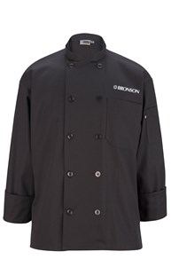 Special-Programs-Bronson-Food-Service | Bronson Food Service | Bronson Chef Coat Long Sleeve Black