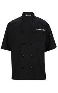Special-Programs-Bronson-Food-Service | Bronson Food Service | Bronson Chef Coat Short Sleeve Black