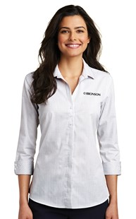 Special-Programs-Bronson-Career-Wear | Bronson Career Wear | Bronson Women's Shirt White/Dark Grey