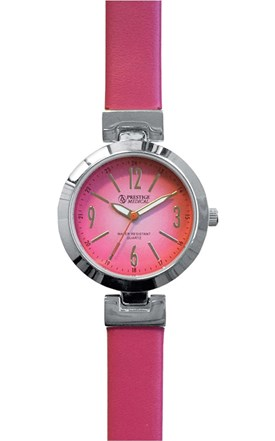 High Fashion Watch with Leather Band Image