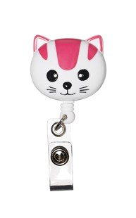 Accessories-Retractable-Badge-Clips |  | Retracteze Deluxe ID Holder - Cat
