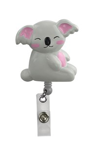 Accessories-Retractable-Badge-Clips |  | Retracteze Deluxe ID Holder - Koala