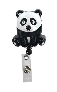 Accessories-Retractable-Badge-Clips |  | Retracteze Deluxe ID Holder - Panda