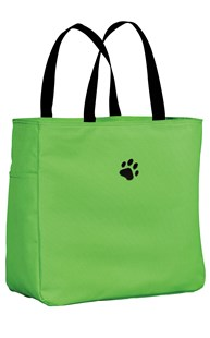 Accessories-Bags-and-Totes |  | Paw Print Large Tote Bag