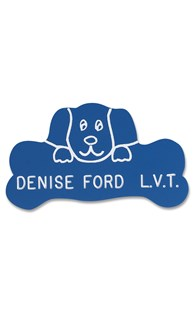 Accessories-Engraving-Engraved-Name-Tags |  | Novelty Badge Dog & Bone