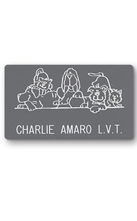 Accessories-Engraving |  | Novelty Badge Happy Pets