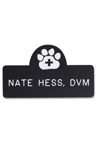 Accessories-Engraving |  | Novelty Badge Paw/Cross