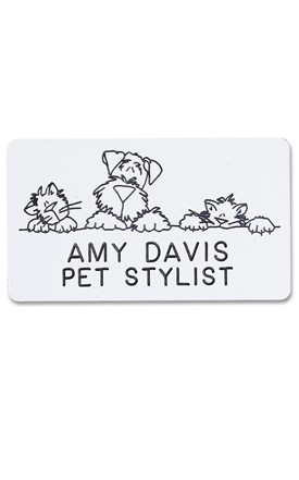 Novelty Badge Pet Pals Image