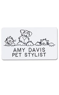 Accessories-Engraving |  | Novelty Badge Pet Pals