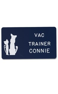 Accessories-Engraving |  | Novelty Badge Pet Silhouette