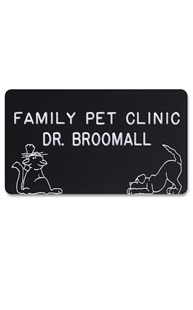 Accessories-Engraving |  | Novelty Badge Playful Pets
