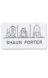 Accessories-Engraving |  | Novelty Badge Pet Squares