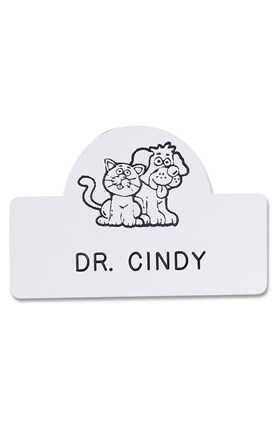 Novelty Badge Wags Image