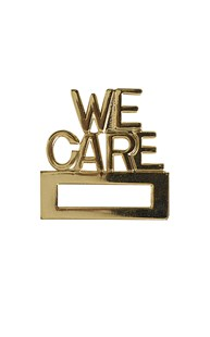 Accessories-Engraving-Engraved-Name-Tags | Clipeze | We Care Badge Holder