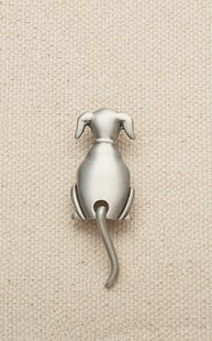 Accessories-Gifts-and-Fun-Stuff |  | Pewter Dog Tac with Moving Tail