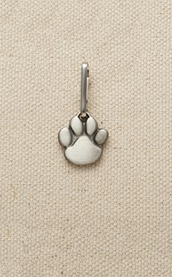 Accessories-Gifts-and-Fun-Stuff-Zipper-Pulls |  | Pewter Zipper Pull Paw Print