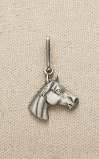 Accessories-Gifts-and-Fun-Stuff-Zipper-Pulls |  | Pewter Zipper Pull Horse Head