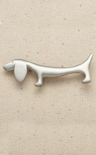 Accessories-Gifts-and-Fun-Stuff |  | Pewter Dachshund Pin