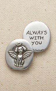 Accessories-Gifts-and-Fun-Stuff |  | Pewter Angel Dog Coin
