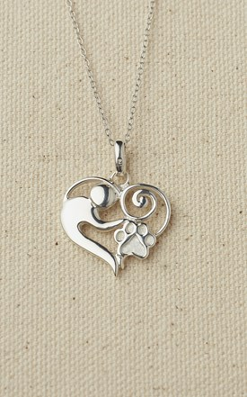 Sterling Silver Mother & Child Necklace Image