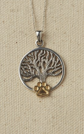 Sterling Silver Tree of Life Necklace Image