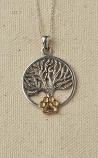 Accessories-Jewelry |  | Sterling Silver Tree of Life Necklace