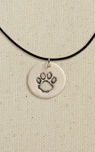 Accessories-Jewelry |  | Ceramic Paw Necklace