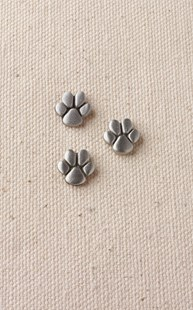 Accessories-Jewelry |  | Set of 3 Pewter Paw Tacs