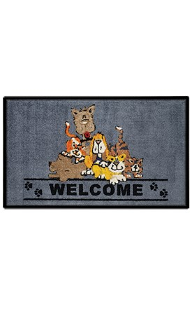 Friends Welcome Mats Image
