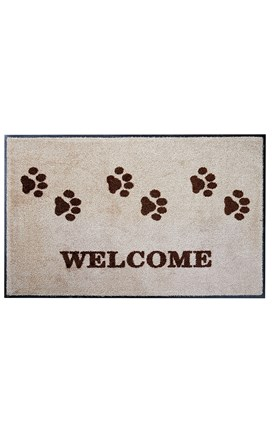 Paw Print Welcome Mat Image