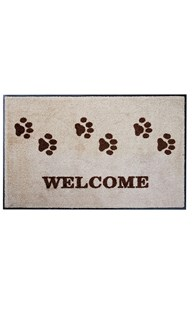 Mats |  | Paw Print Welcome Mat