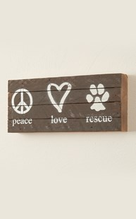 Fun-Stuff-Wall-Art |  | Second Nature by Hand Wall Art - Peace Love Rescue