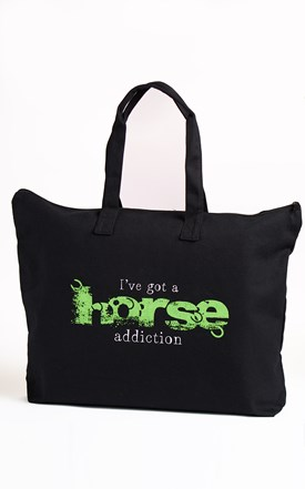 Addiction Large Tote Image