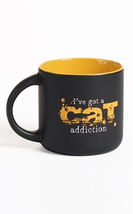 |  | Addiction Large Ceramic Mug