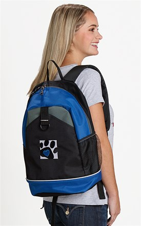 Love4Paws Embroidered Backpack Image