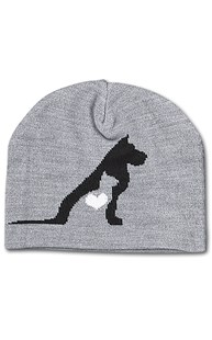 Accessories-Gifts-and-Fun-Stuff |  | Pet Silhouette Beanie