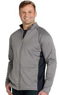|  | Men's Colorblock Full Zip Jacket