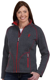 Workwear-Outerwear-Jackets |  | Women's Contrast Stitch Heathered Fleece