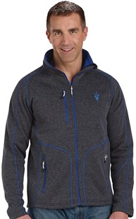 |  | Men's Contrast Stitch Heathered Jacket