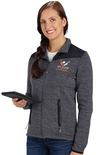 Workwear-Outerwear |  | Women's Sweater-Knit Fleece Jacket