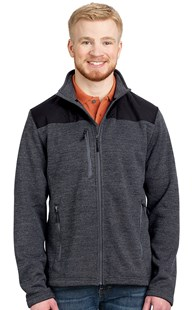 Outerwear-Jackets |  | Men's Sweater-Knit Fleece Jacket