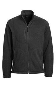 Workwear-Outerwear |  | Men's Sweater Knit Fleece Heather Jacket
