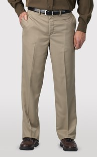 Workwear-Pants |  | Flat Front Microfiber Dress Pant