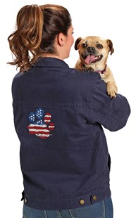 |  | Patriotic Paws Dri Duck Jacket