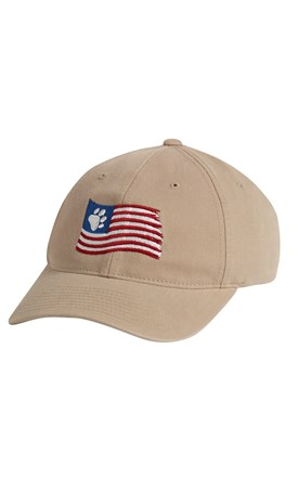 Patriotic Paws Embroidered Hat Image