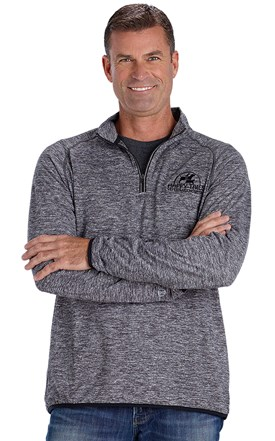 Men's Color Trim Performance Pull-Over Image
