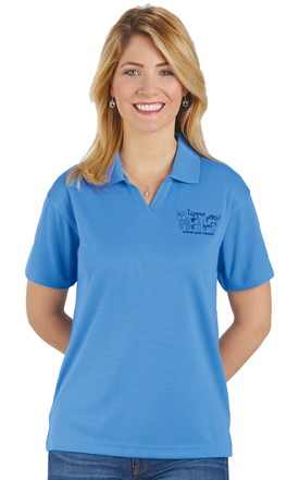 Women's Performance Micromesh Polo Image