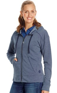 Workwear-Casual-Wear-Sweatshirts |  | Full Zip Fashion Fleece Hoodie
