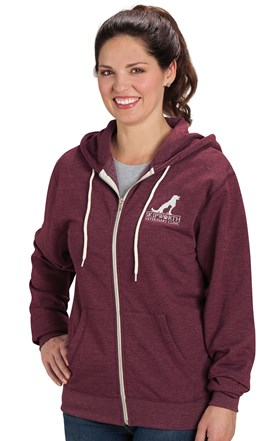 UNISEX Kangaroo Pocket Hooded Sweatshirt Image